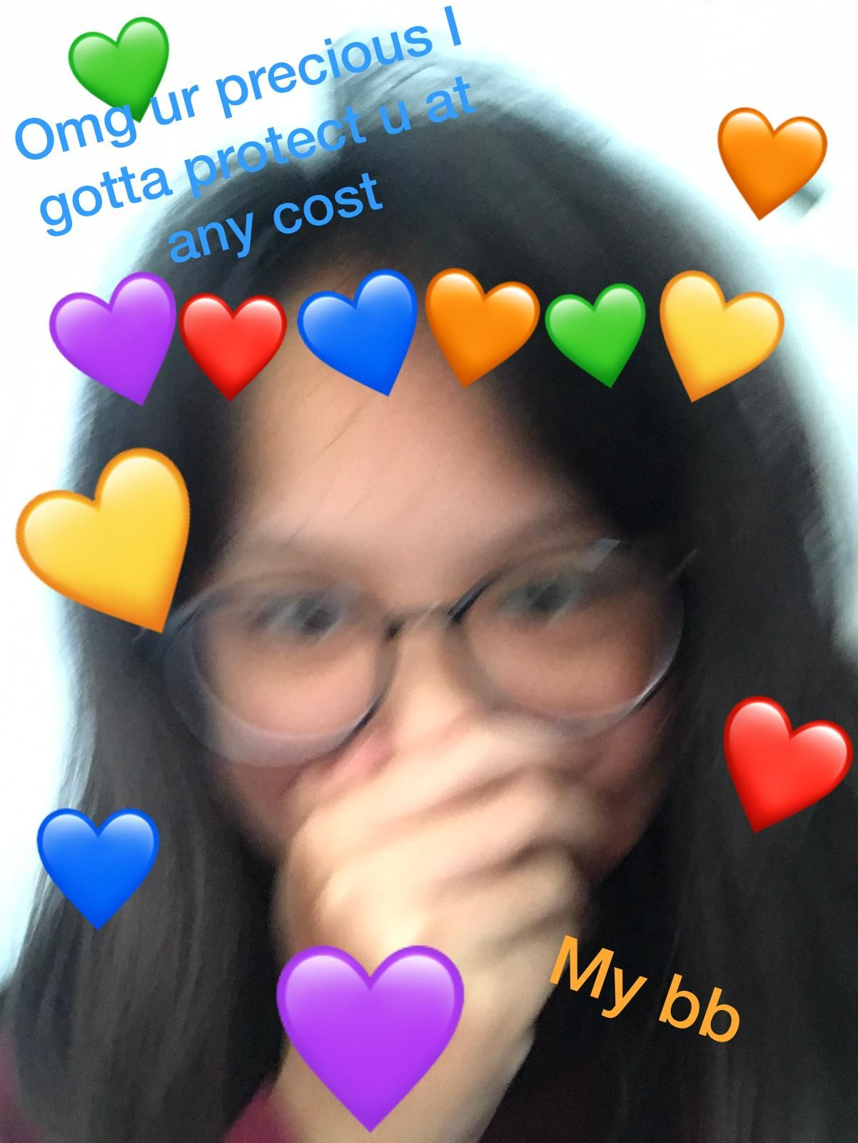 My love and affection meme Made by me, and yes that's me
