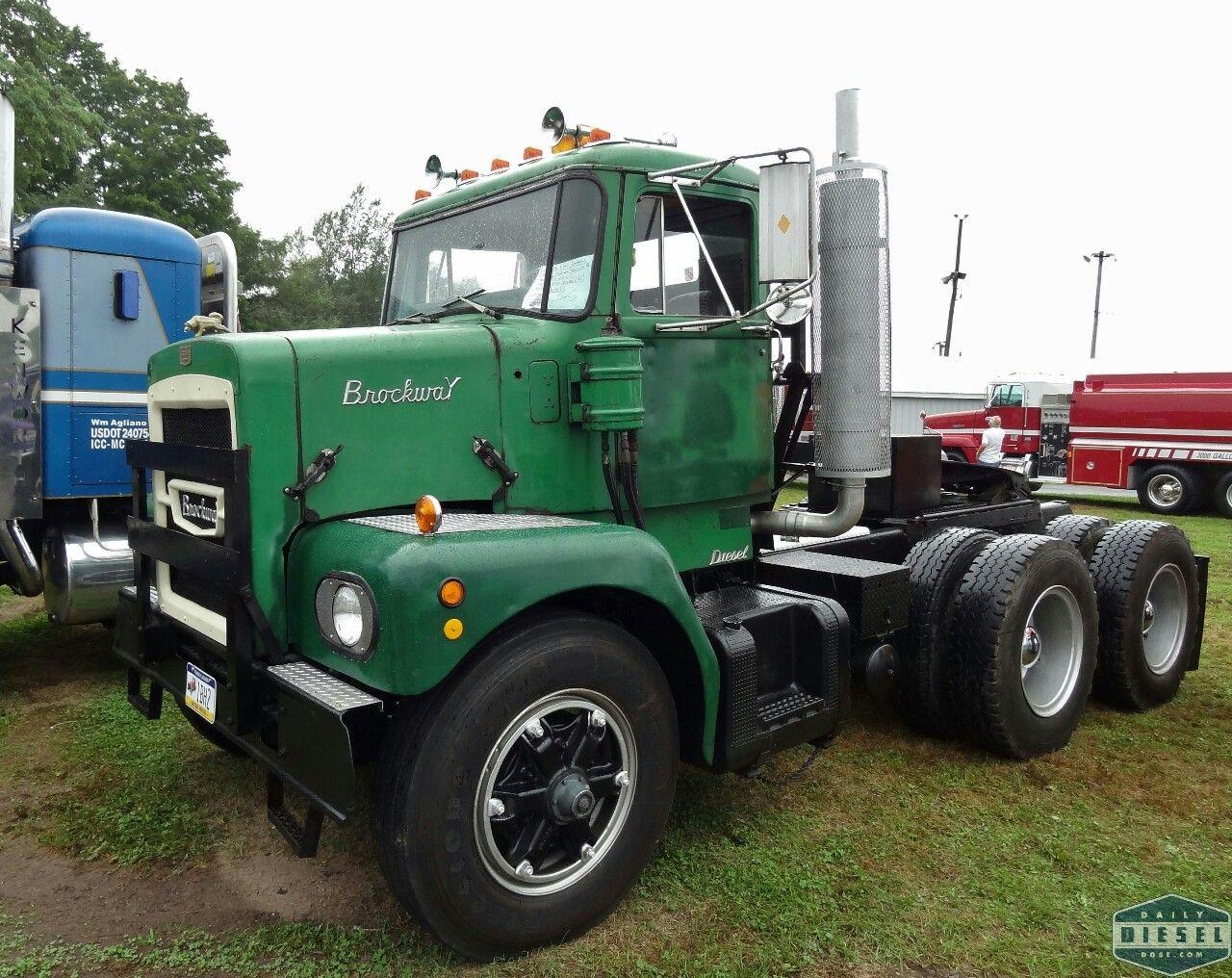 Brockway 359 Classic Trucks Semi Trucks Big Rig Trucks