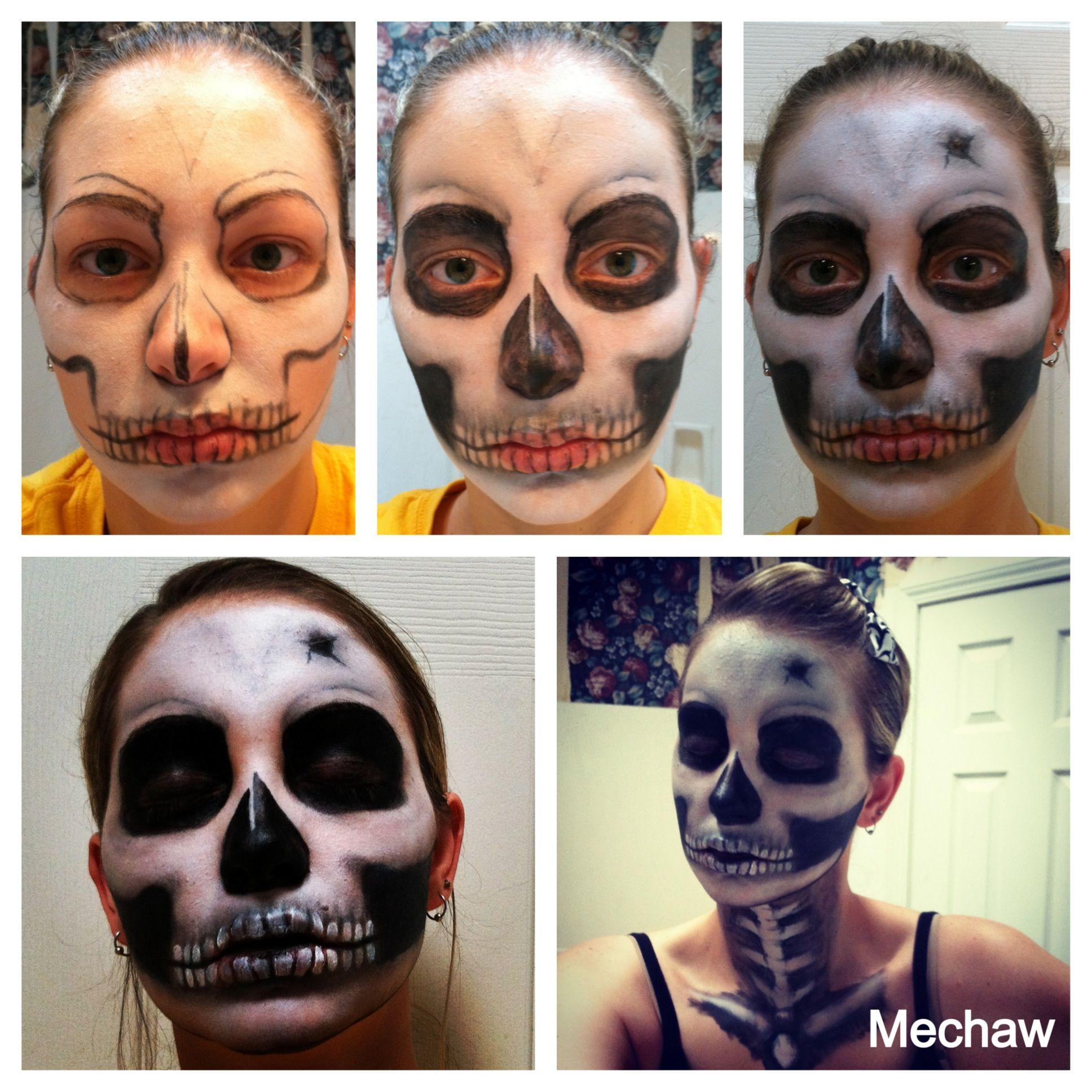 Mechaw - Halloween Skull Makeup