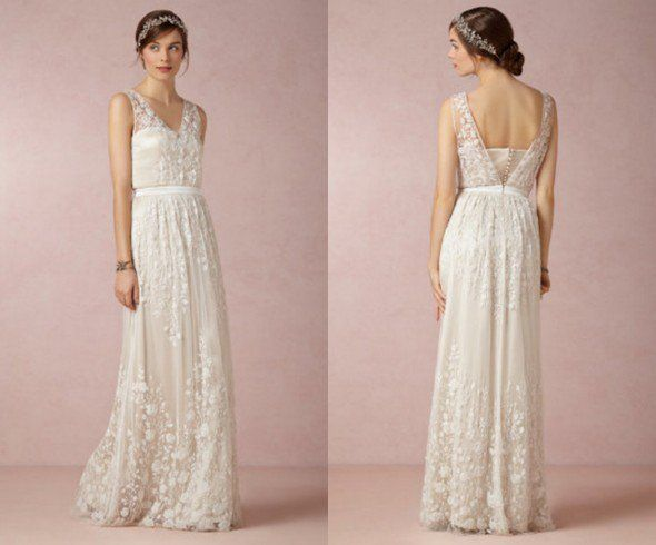 Wedding Dresses For A Backyard Wedding | Rustic Wedding Dresses