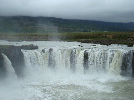 Godafoss vattenfall, Island