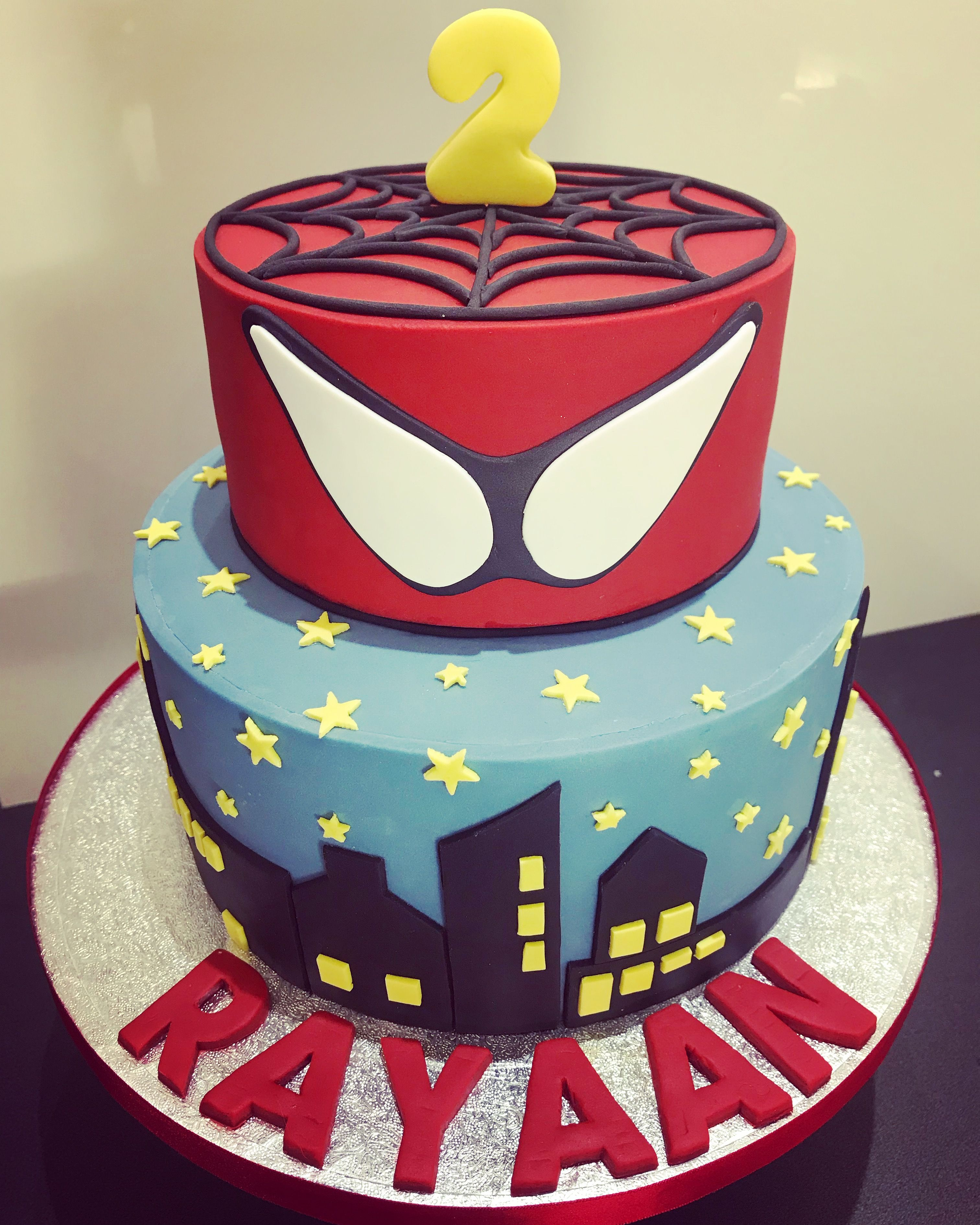 Spider Man Birthday Cake Cakes Made By Me Pinterest Men