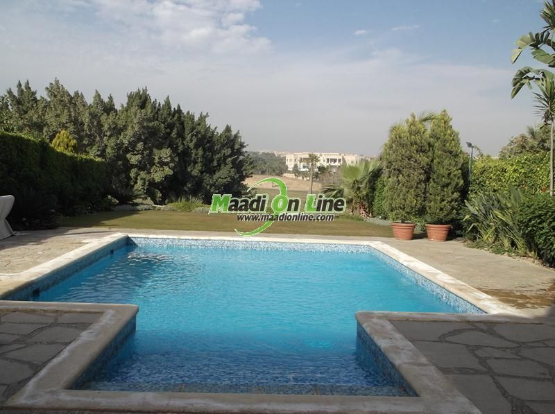 Villa For Rent In Katameya Heights On The Golf Great Price With Pool. Real  Estate