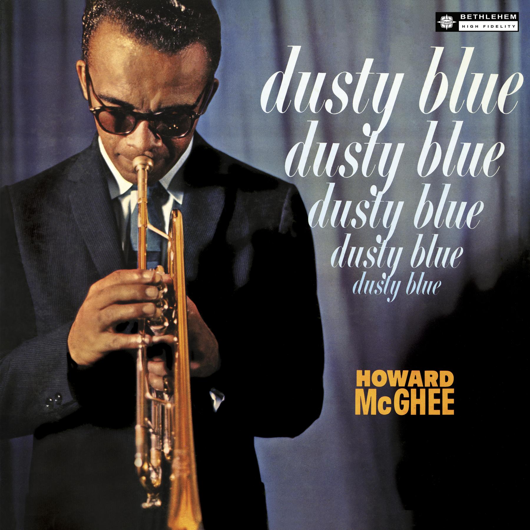 """BCP 6055 Howard McGhee """"Dusty Blue"""" Classic jazz, Rare"""