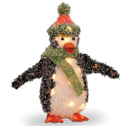 18 penguin with 35 clear lights rite aid christmas table decorations christmas ideas