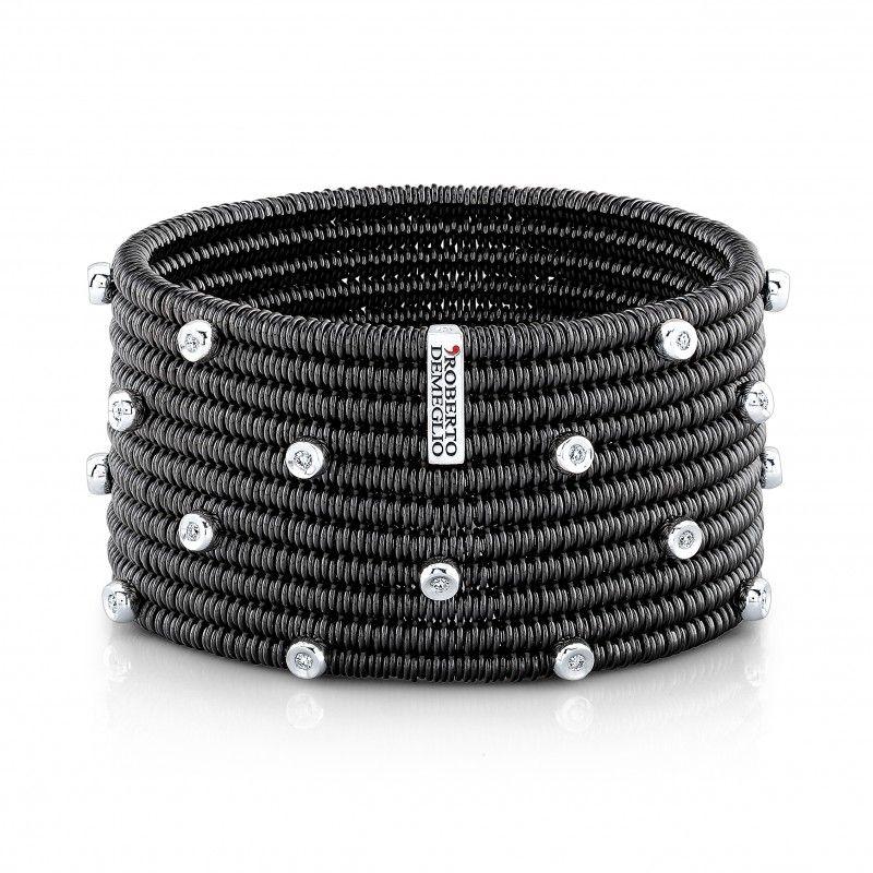 Domino Ceramic Diamond Bracelet