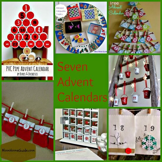 Come check out these seven fun advent calendar crafts and ideas