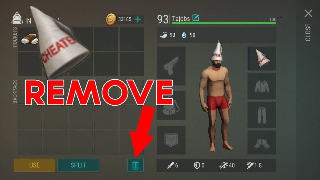 How To Remove Cheater Cap In Last Day On Earth Survival With