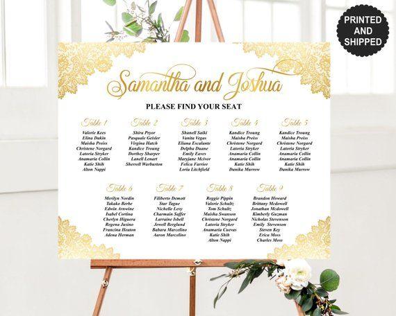 modern pink minimal wedding seating plan printable Alphabetical seating chart MIRRA Alphabetical Wedding Seating Chart