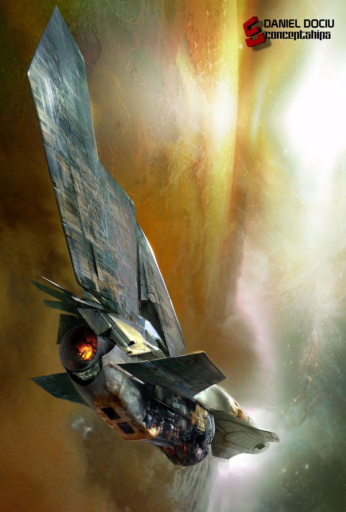 CGTalk - March/ Igor Tkac's Concept Ships