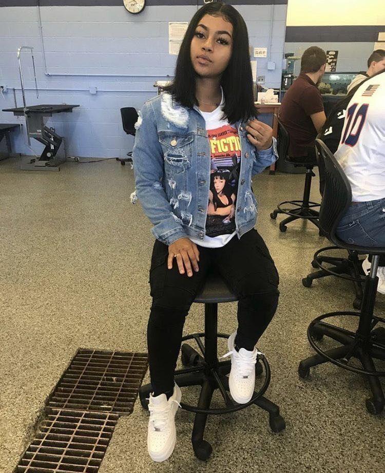 f. me rlatta 💸 in 2020 Baddie outfits casual, Teenage