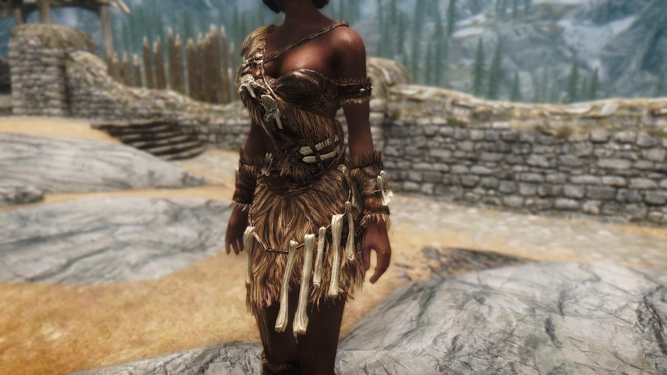 Giants Cloth Armor Male Cbbe Unpb 7b Uunp Dreamgirl Hdt At Skyrim