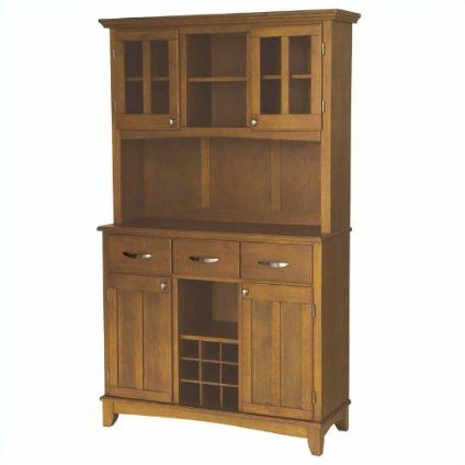 Home Styles 5100-0066-62 Large Wood Server Buffet Table $496.99