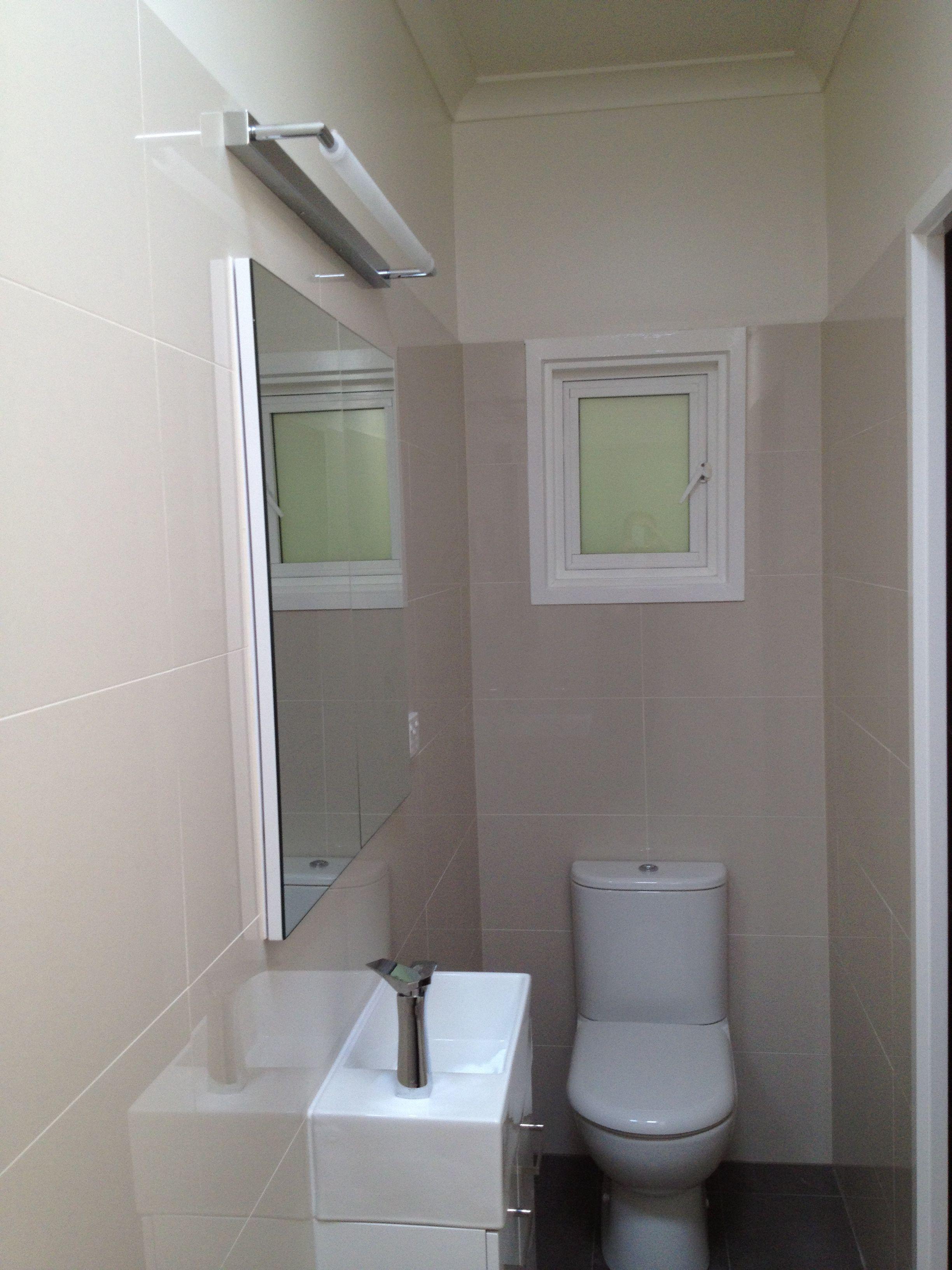 Narrow hallway decor  Tight narrow Hallway now your ensuite renovated by ddesignz