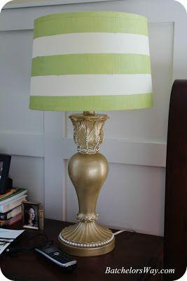 Diy lamp redo Batchelors Way: Master Bedroom Part 5 - Don't Close the Curtains