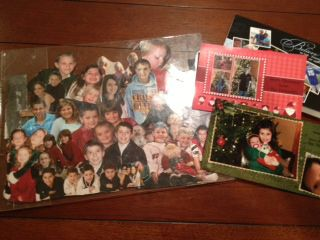 30 Second Mom - Mindy Hudon: What to Do with Holiday Photo Cards? Make a Collage!