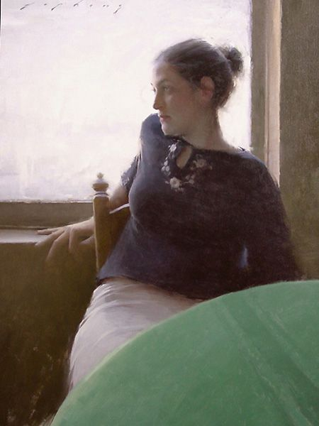 """Day Dreaming"", by artist, Jeremy Lipking. Represented by Arcadia gallery in NYC."