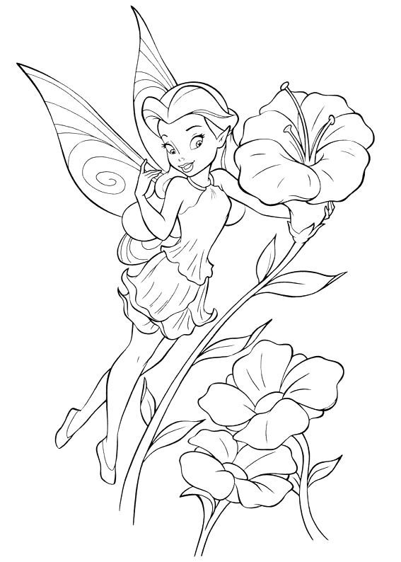 rosetta coloring page - Disney Coloring Book
