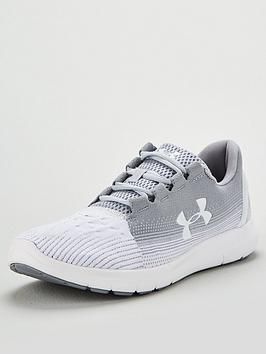 Reconocimiento Polo Glorioso  Under Armour Remix 2.0 Trainers - Grey/White in 2019 | Under armour, Sock  shoes, Trainers