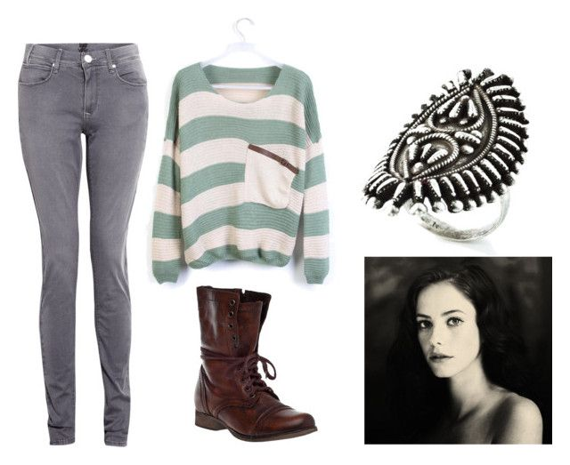 """""""Its Time"""" by vanessa-m-108 ❤ liked on Polyvore featuring DAY Birger et Mikkelsen, Steve Madden and DANNIJO"""