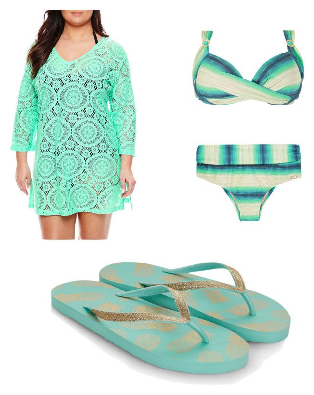 Day at the beach by sarayxg on Polyvore featuring polyvore, fashion, style, Porto Cruz, Monsoon and clothing