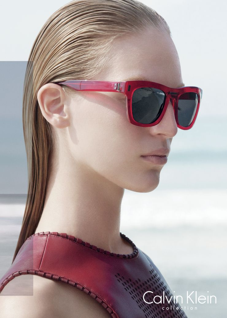 Clark Bockelman, Vanessa Axente by David Sims for Calvin Klein Collection Spring Summer 2015