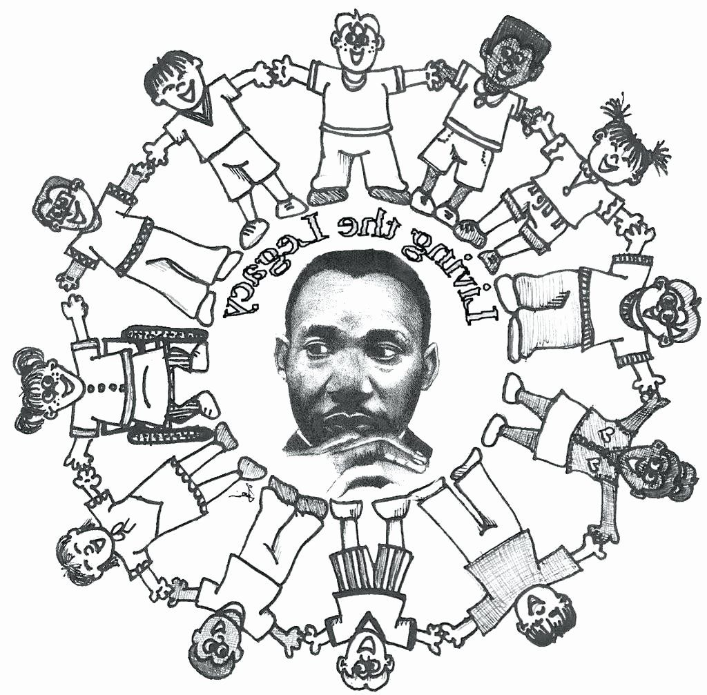 - Field Day Coloring Sheet Martin Luther King Jr Activities