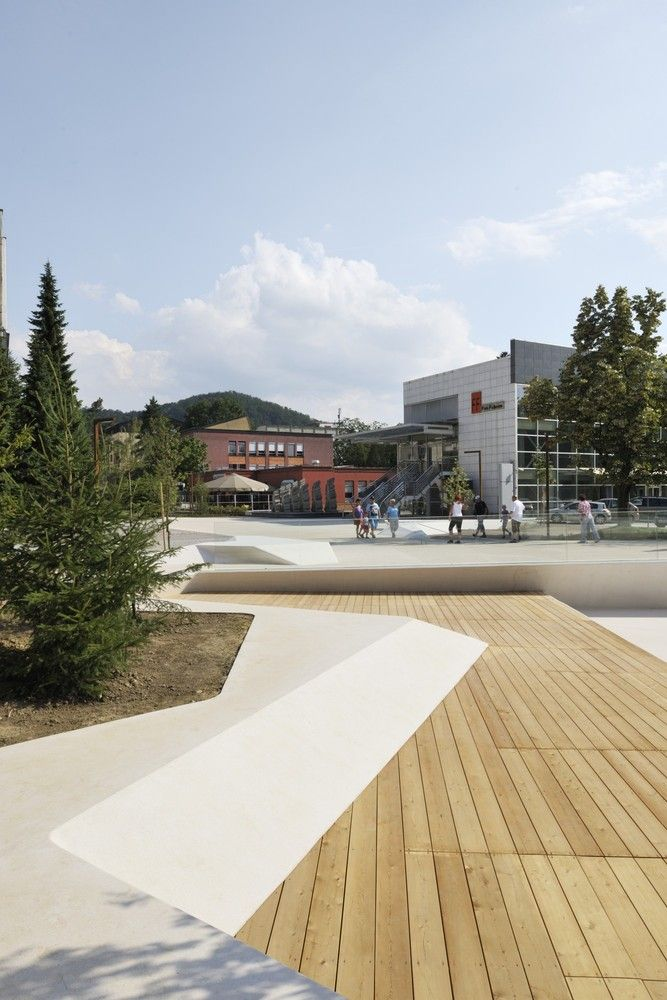 Promenada by Enota Architects - Eslovênia