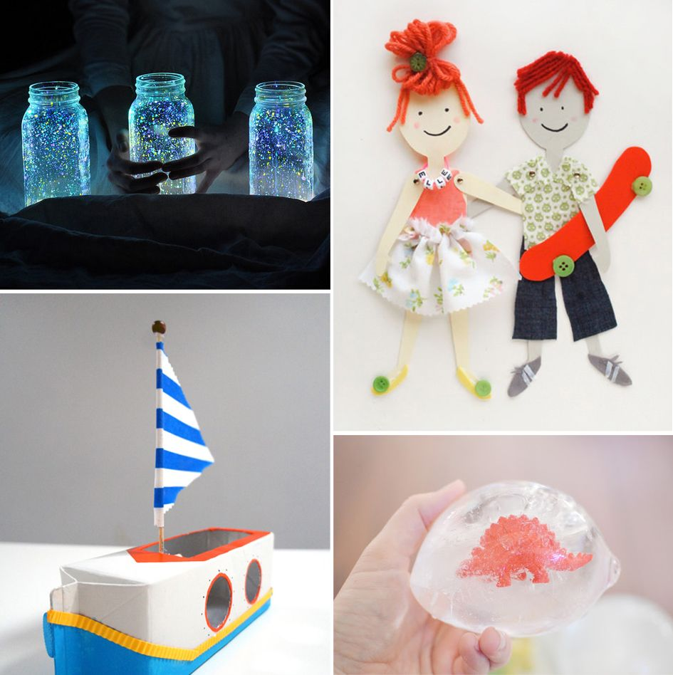 10 Summer Craft Projects to Do With Your Kids