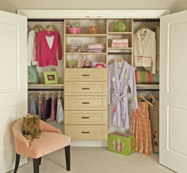 Creating More Space In Your Cluttered Childrenu0027s Closets Ideas