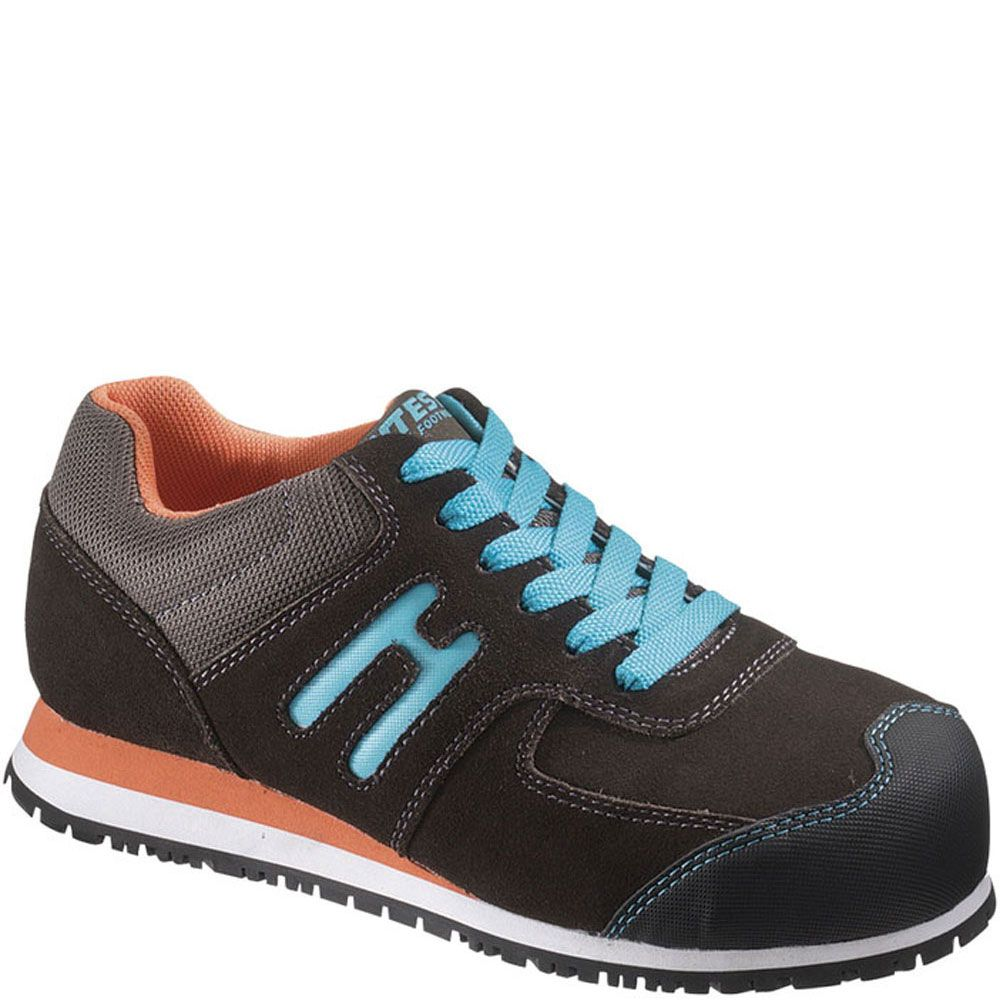 17102 Hytest Women's EH ST Toe Safety Shoes Charcoal