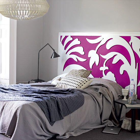 Kopfteil Designs · Hausgemachte Kopfbretter · Schlafzimmerdesign ·  Schlafzimmer Ideen · Schlafzimmer Tapetenmuster · Highlighting The  Headboard Wall