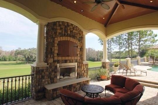Nice Patio With Fireplace Unique House Plans Luxury