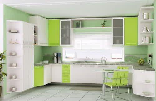 Ehrfürchtig-Design-für-kleine-küche-dachschräge-modern-gestalten - kleine küche gestalten