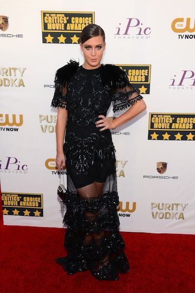 Everyone Looked Pretty Great at the Critics' Choice Awards: Adele Exarchopoulos in Louis Vuitton