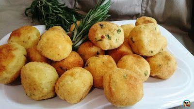 ¡Huele Bien!: Albóndigas de patatas y pan