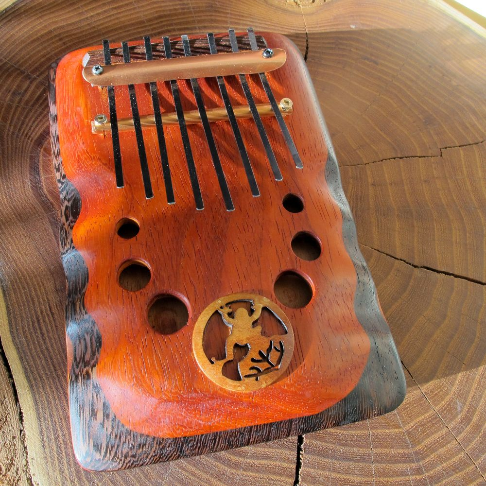 8 note kalimba handmade from rays rootworks frog