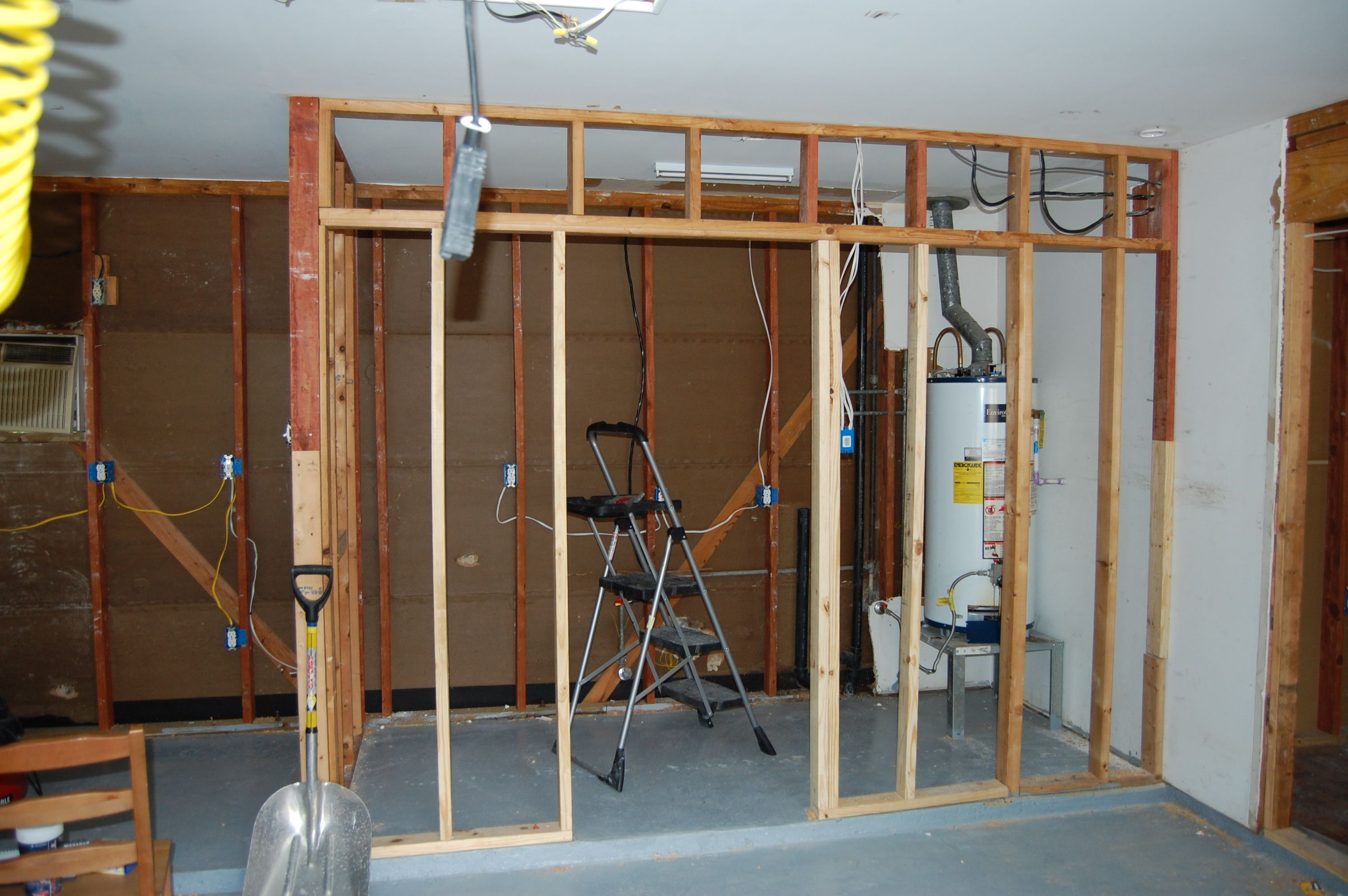 Building My Laundry Room In The Garage Garage Laundry Rooms Laundry Room Diy Garage Laundry