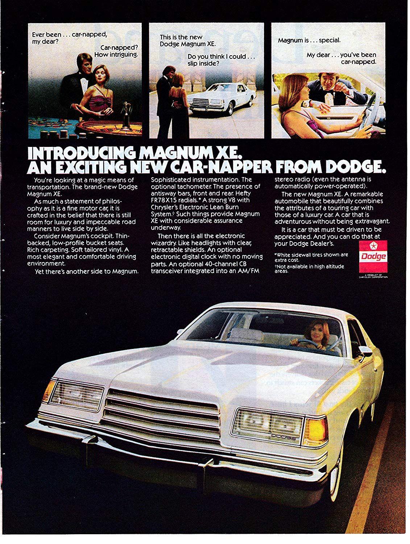 White Dodge Magnum : white, dodge, magnum, Amazon.com, Dodge, Magnum, Introduction, Original, Magazine, Touring, Luxury, Vehicle, Everything, Magnum,, Dodge,, Classic