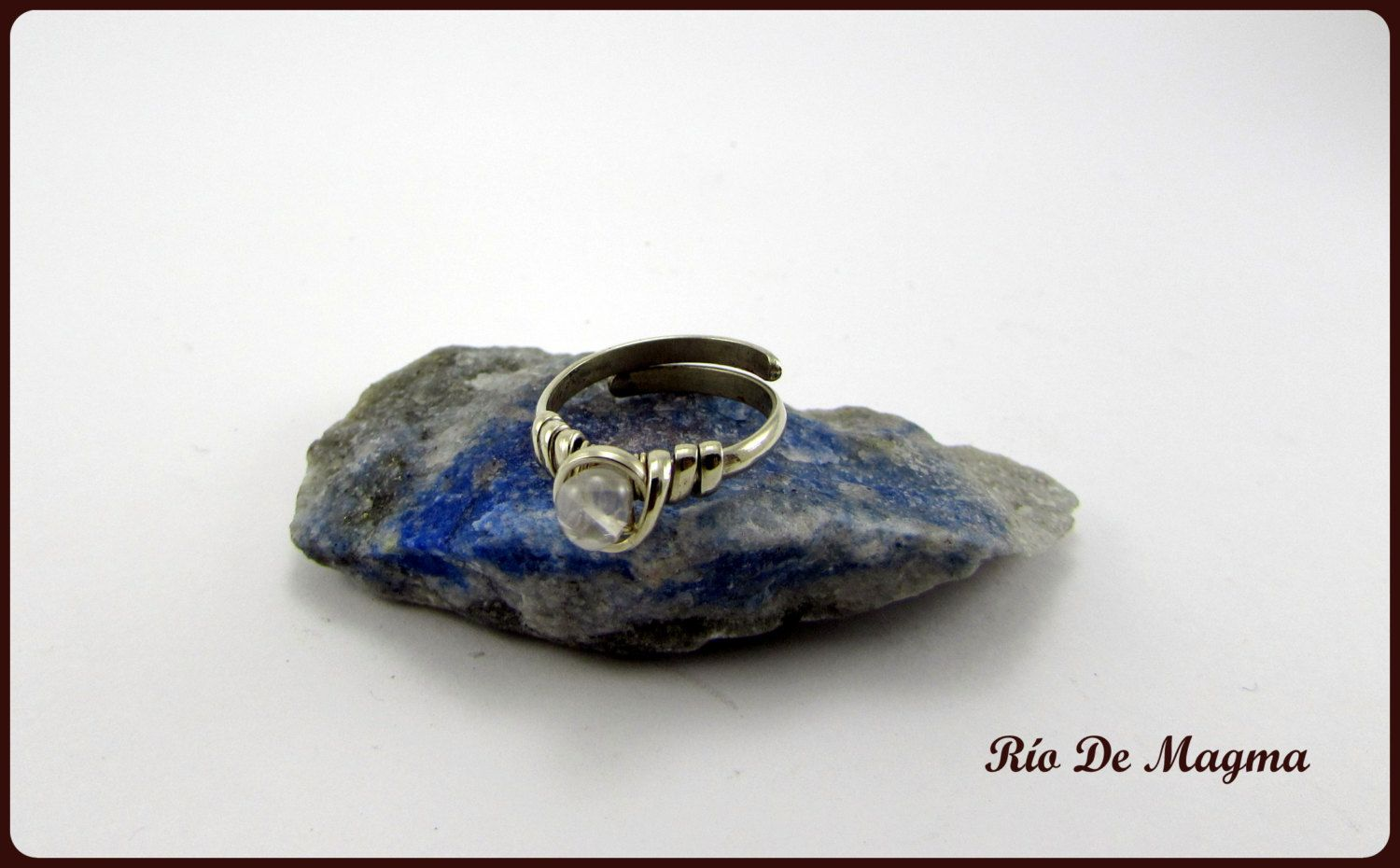 Gentelibre Casual Quartz Wire Ring Handcrafted Free People Jewelry
