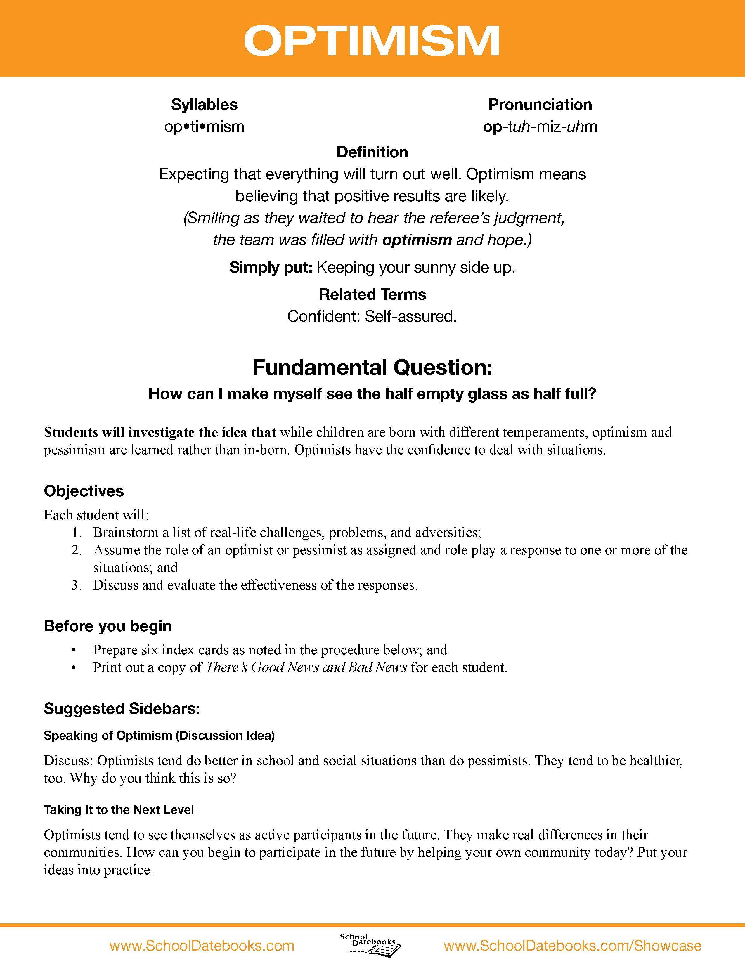 Linear Character Development Worksheet