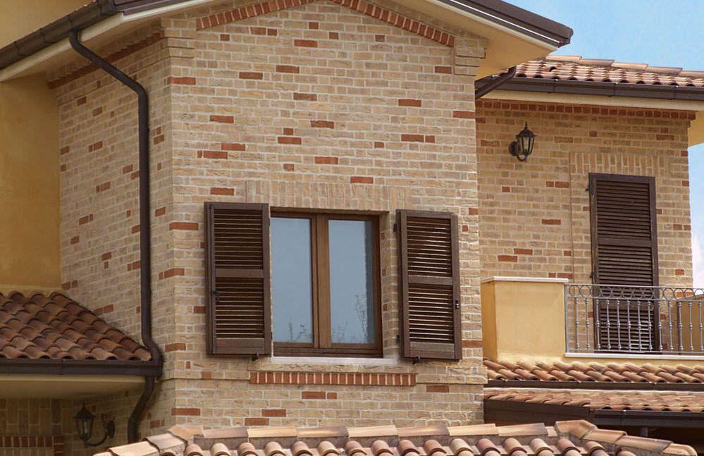 Ladrillos para fachadas casas buscar con google d e c o ladrillo fachada de casa y casas - Fachadas ladrillo rustico ...