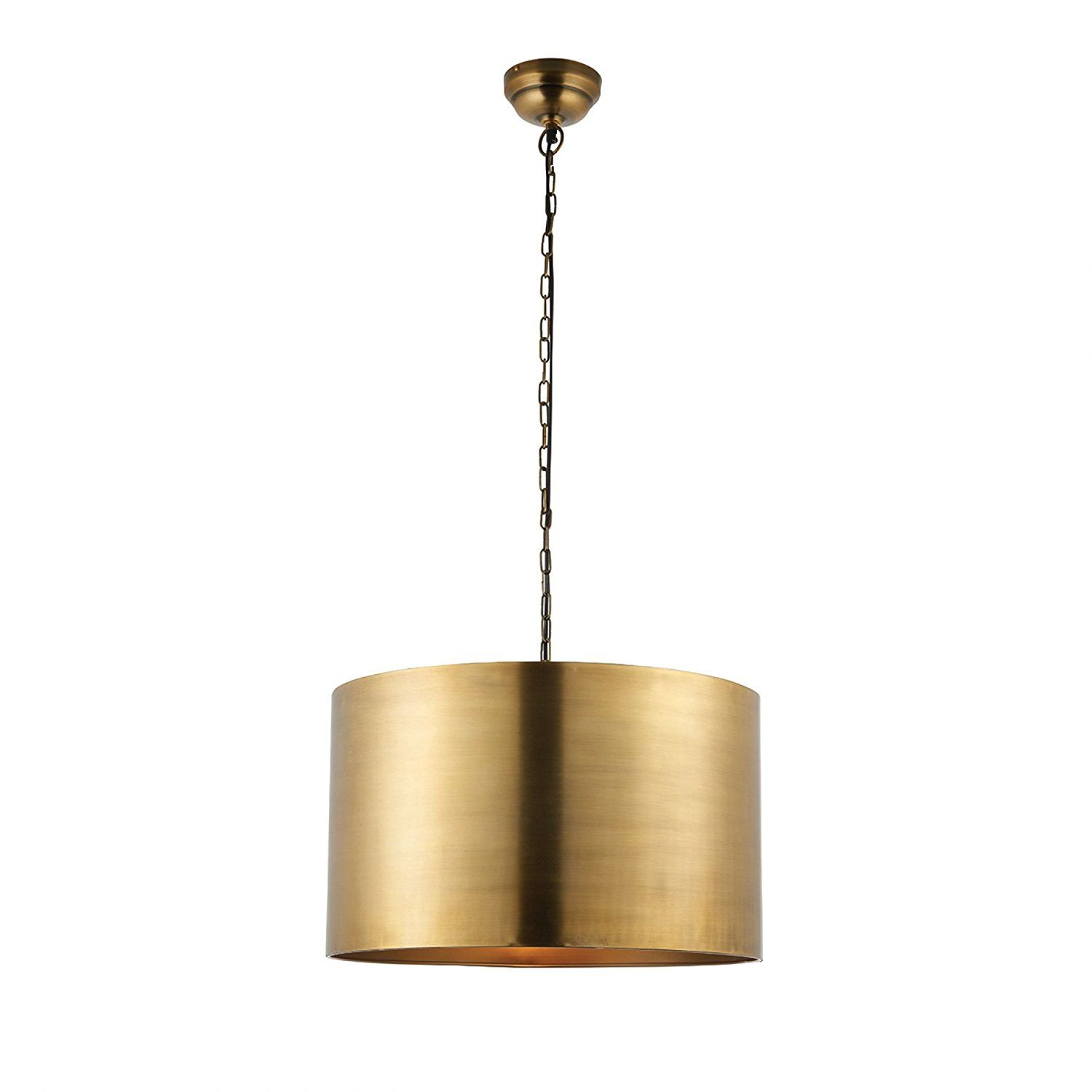 Endon morad modern contemporary decorative brass dimmable
