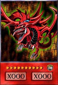 yugioh cards anime style google search slifer the sky dragon