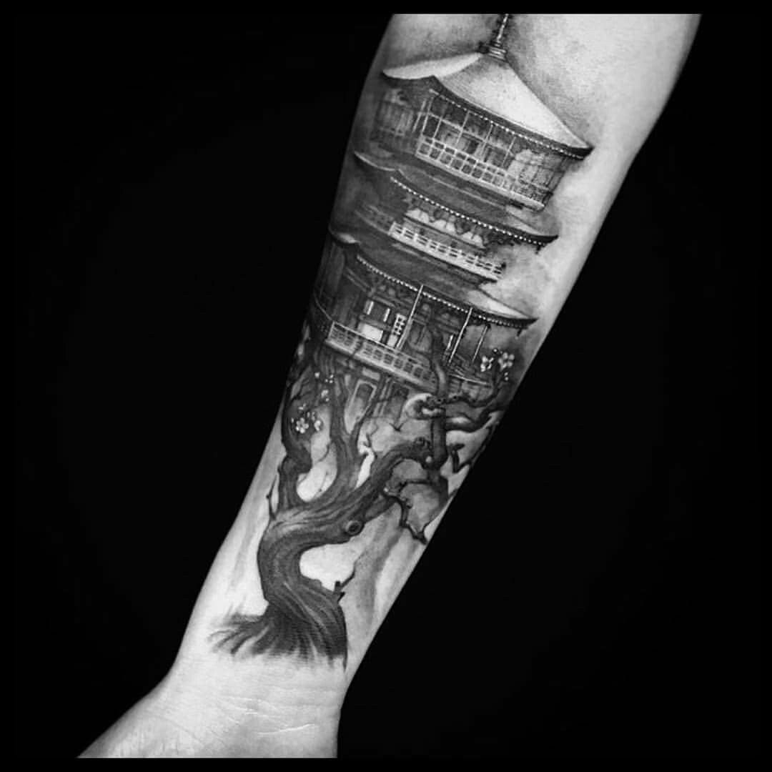 Bonsai Tattoo Meaning: Pin By Frankly Unique On Right Sleeve