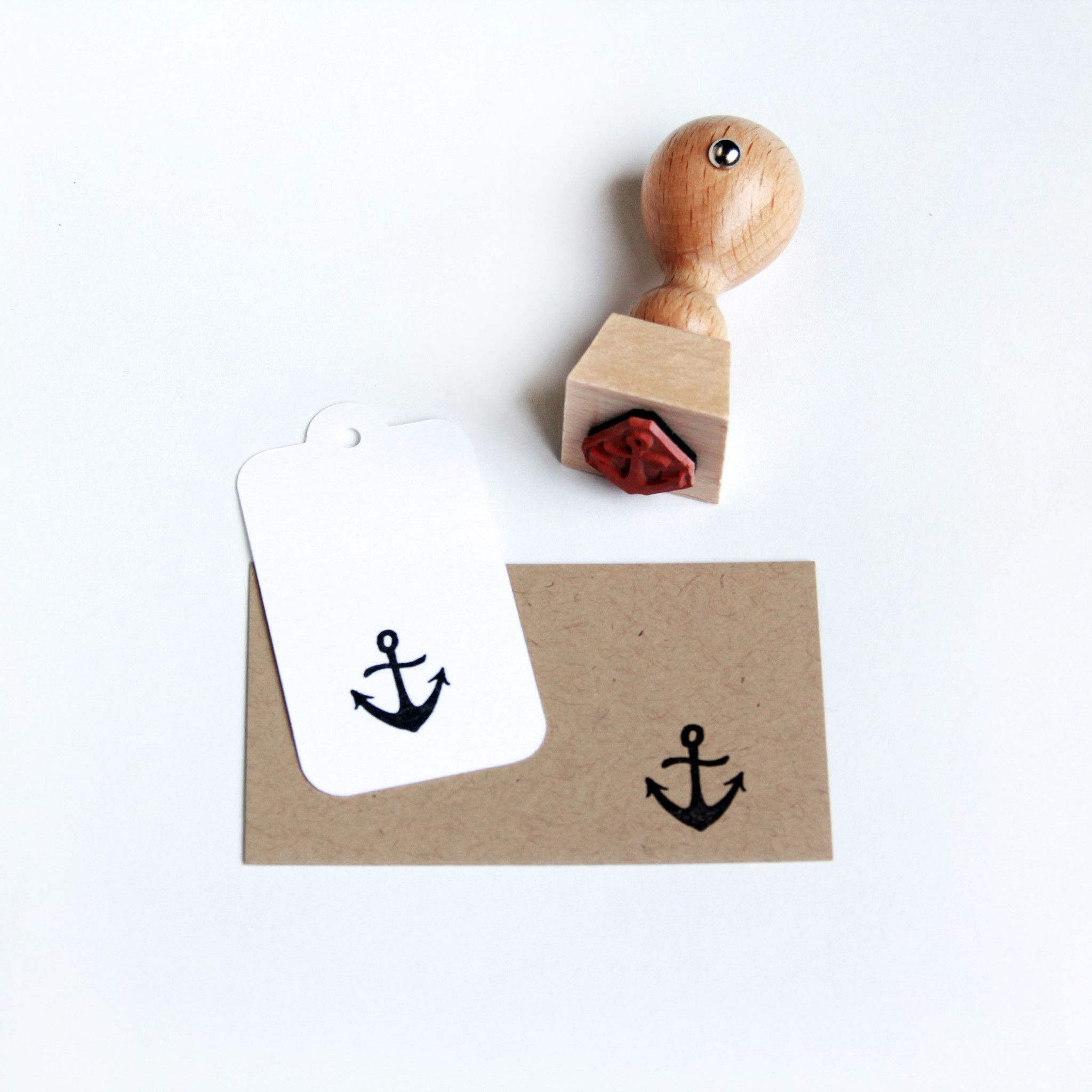 Super cute and unique, original design anchor stamp totally on trend ...