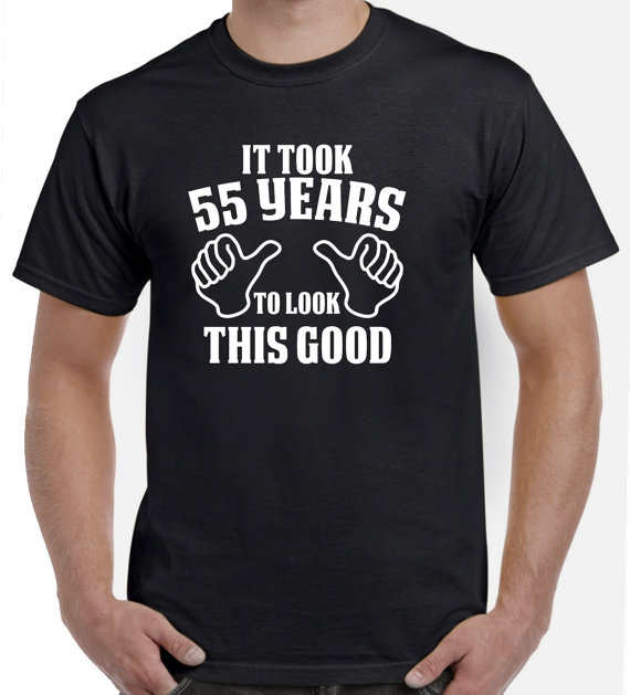 55th Birthday Gift Shirt For Him By SuperCoolTShirts