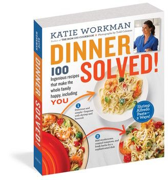 Dinner Solved! cookbook brims with short-cut recipes for kids & their families