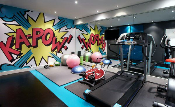40 Personal Home Gym Design Ideas For Men Workout Rooms Gym