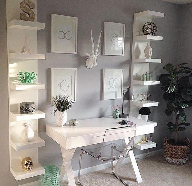modern office space dream home come true home office decor home rh pinterest com